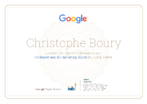 Certification-Digital-Active-Google-christophe-Boury