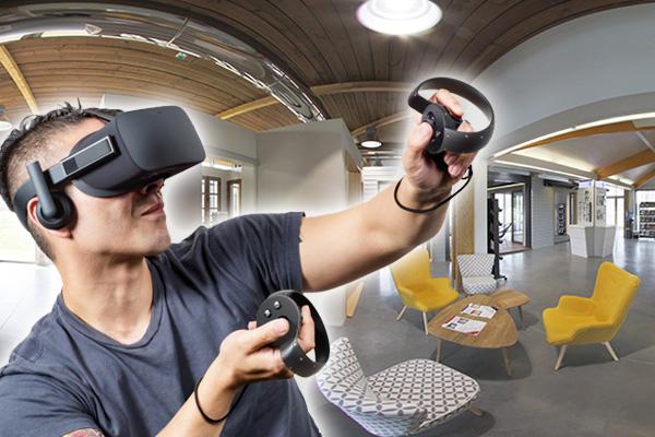 Le casque de réalité virtuelle permet de plonger dans votre univers